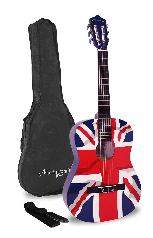 Martin Smith 36 Inch 3 4 Size Classical Guitar Union Jack Guitar Acoustic Guitar Acoustic Ad Unionjack Union Jack Martin Smith Guitar