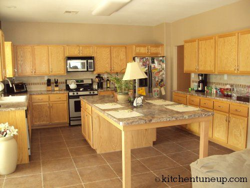A Great Open Look For An Island In Your Kitchen Sit Around It Or Use