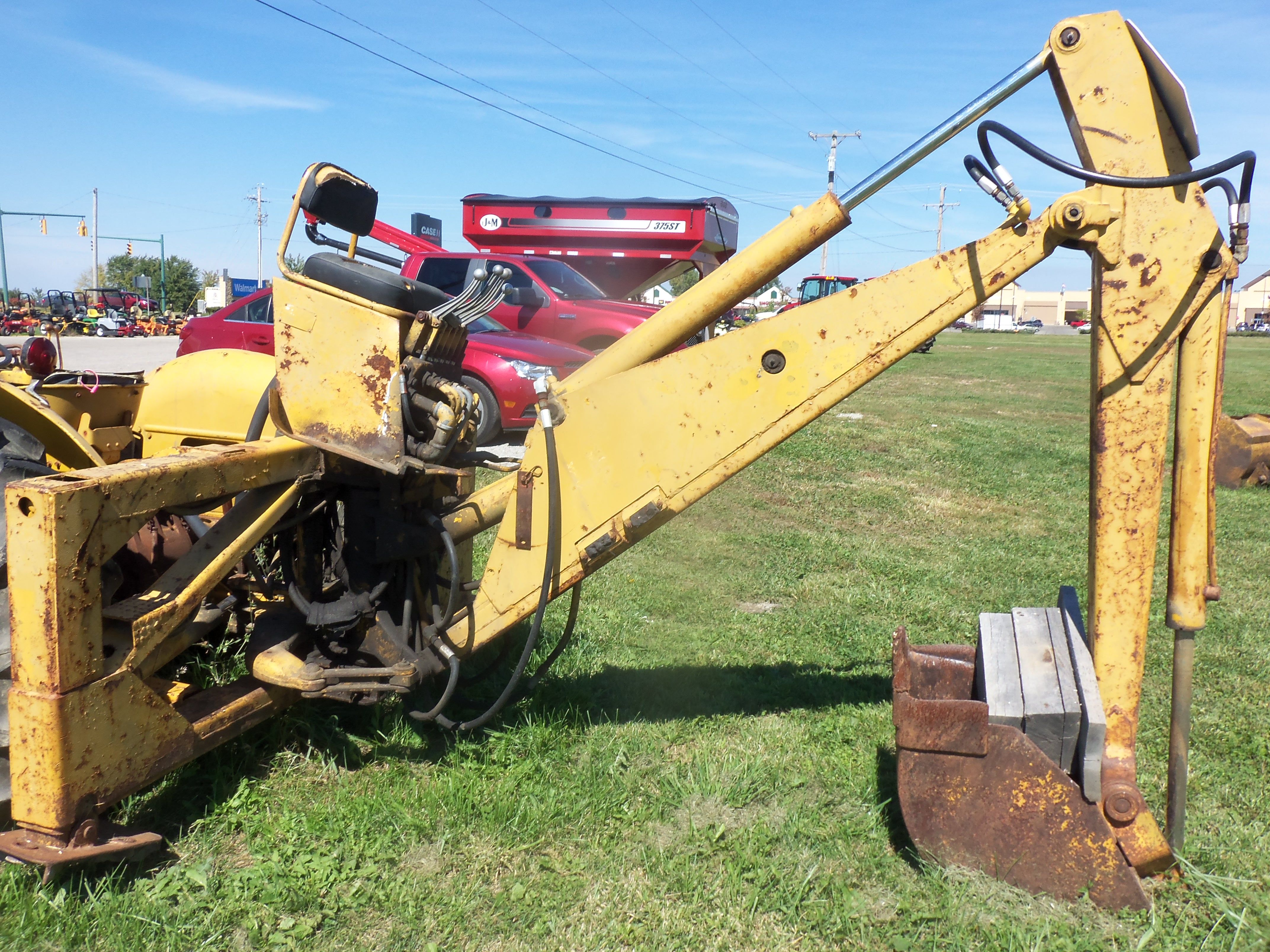 Massey Ferguson 2135 backhoe with boom & stick This is based