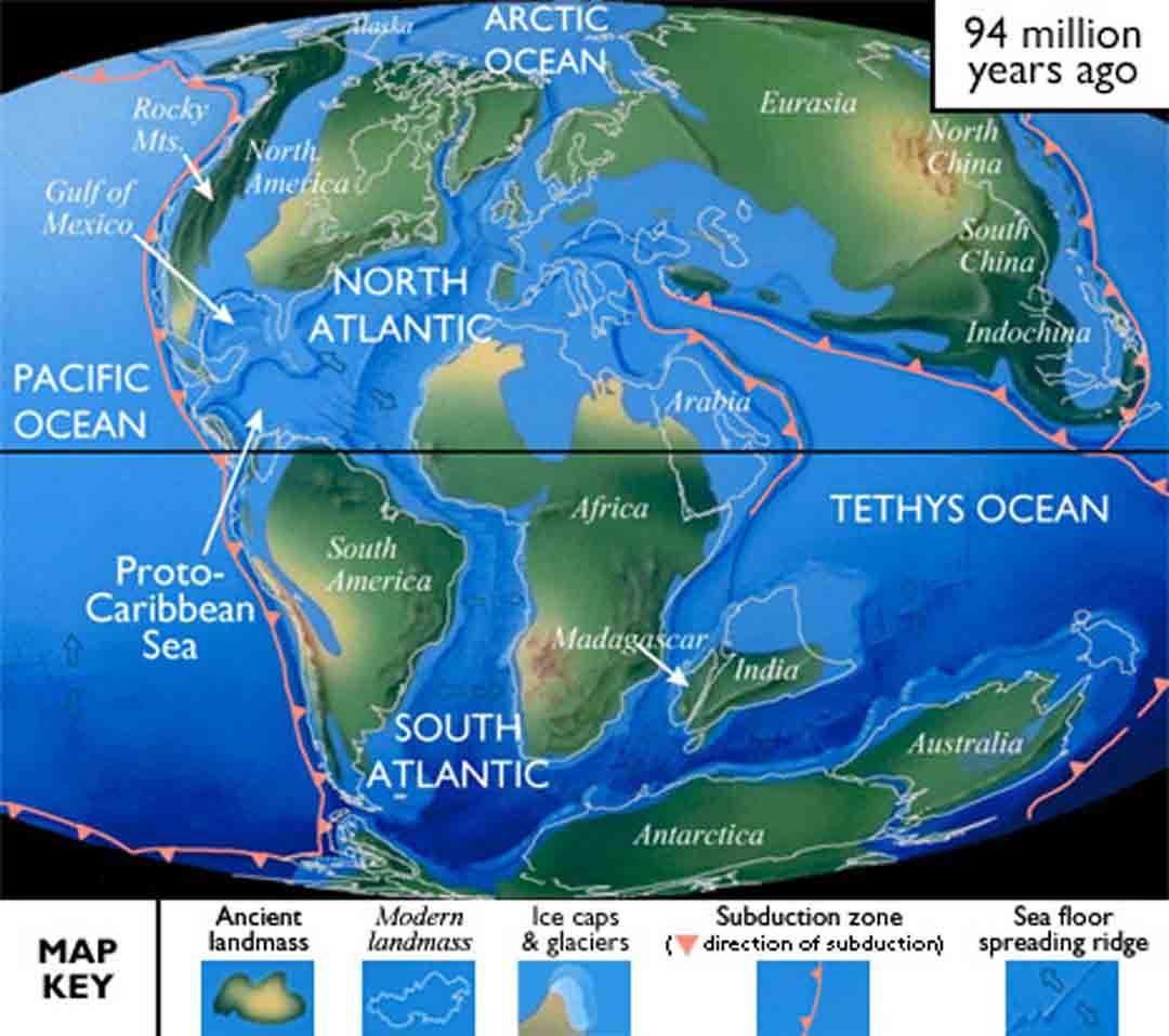 Cretaceous 144 65 ma ago the 2nd major episode of continental cretaceous 144 65 ma ago the 2nd major episode of continental rifting in the breakup of pangea began in the early cretaceous sa af separated slowly gumiabroncs Gallery
