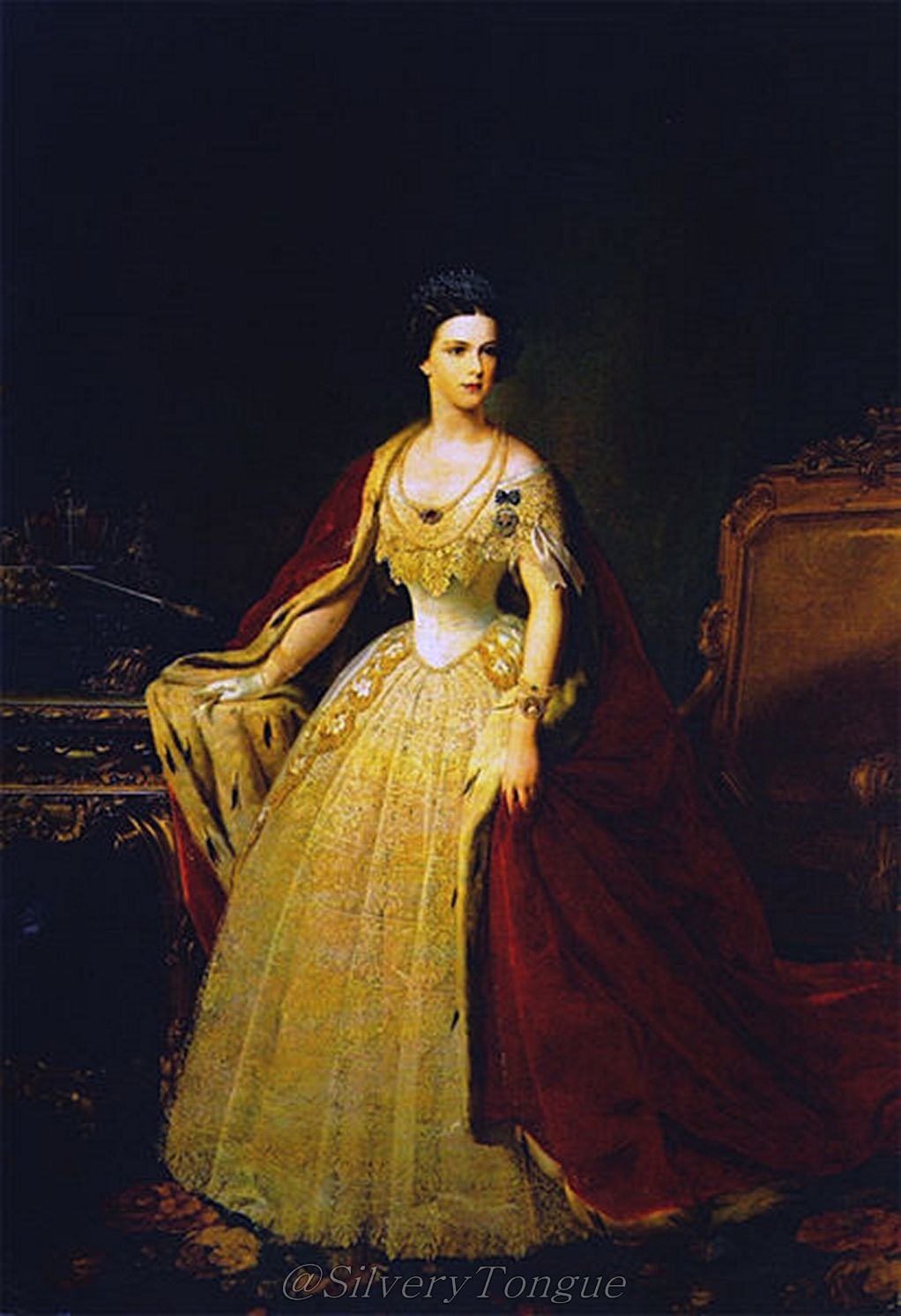 The Empress Iii: A Royal Super Star: Empress Sissi In 1854 Repinned By Www