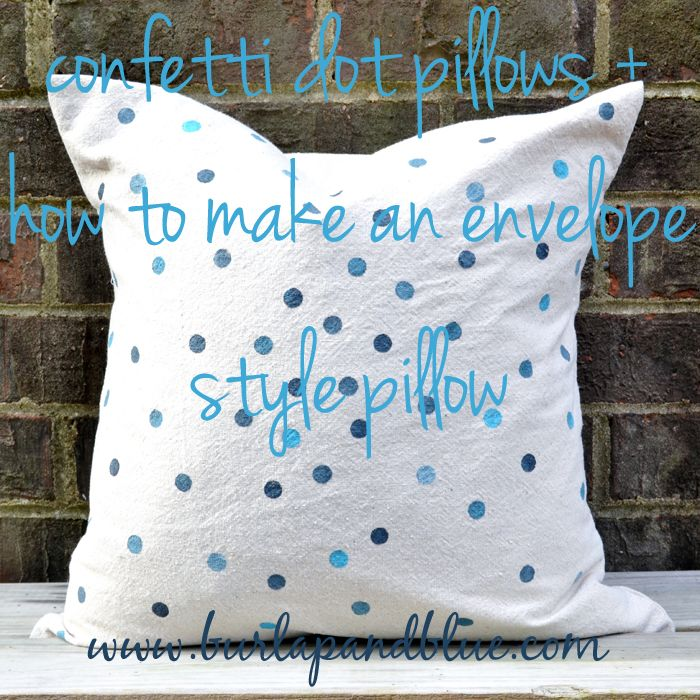 how to make round pillows