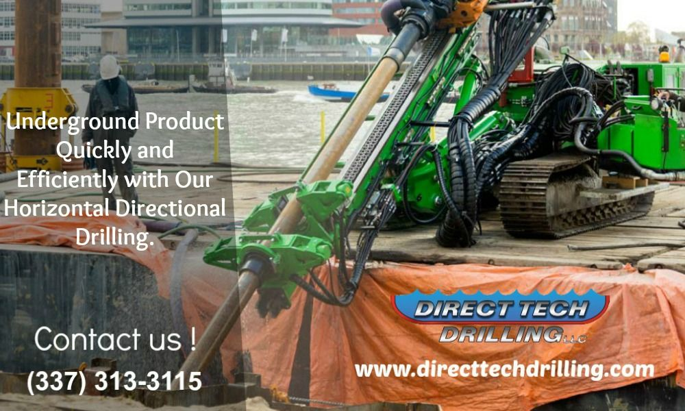 Direct Tech Drilling provides directional drilling