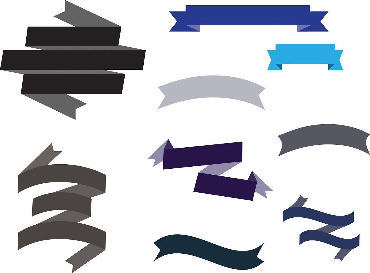 brittnee designs ribbon   banner vectors my designs banner vector ai banner vector file