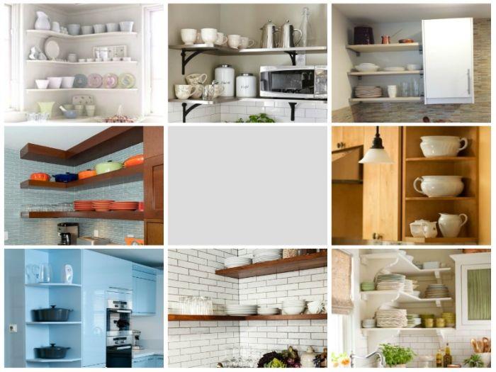 8 idea terbaik untuk menggunakan sudut di kabinet dapur for Kitchen set untuk dapur sempit