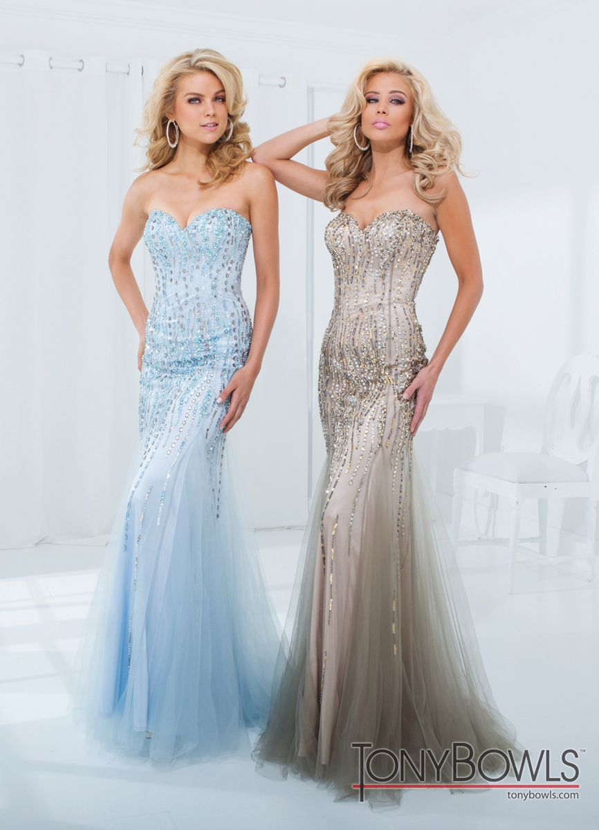 Mermaid evening gown tony bowls mermaid gown and mermaid