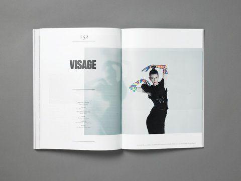 magazine layout.