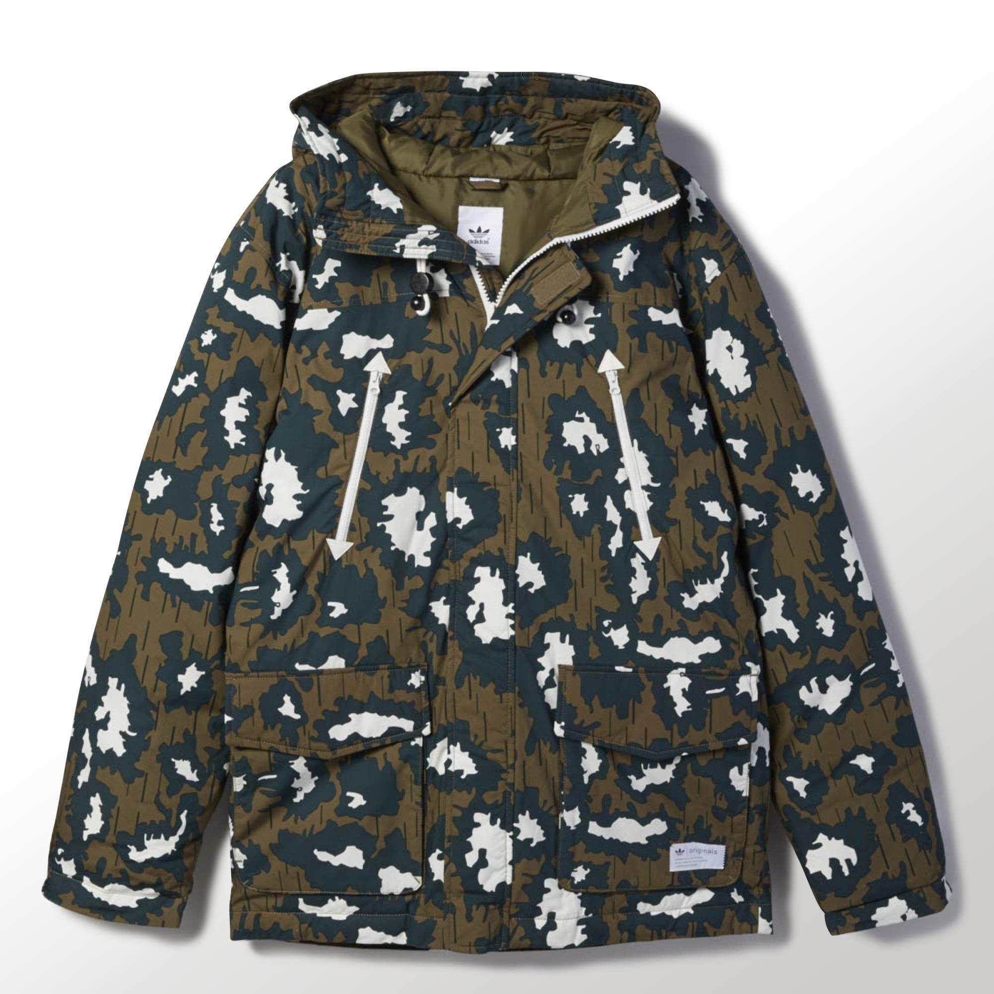 adidas leopard print jacka