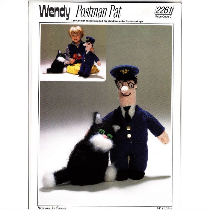2261 wendy knitting pattern postman pat jess the cat toys dk 2261 wendy knitting pattern postman pat jess the cat toys dk 5015832422611 on ebid united dt1010fo