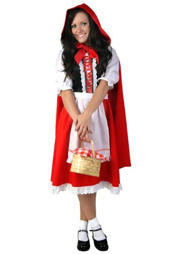 Red Riding Hood Plus Size Costume (2X) Fun Costumes   www - halloween costume ideas for women 2016