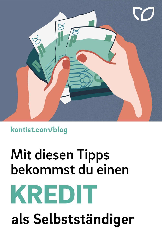 Kredite Fur Selbstandige So Klappt Es Kontist Berufliche Weiterbildung Kredite Finanzen