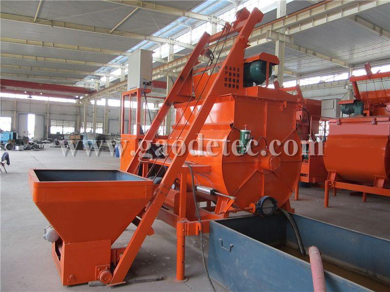 Foam Cement Block Machine Concrete Mixers Concrete Roof Construction