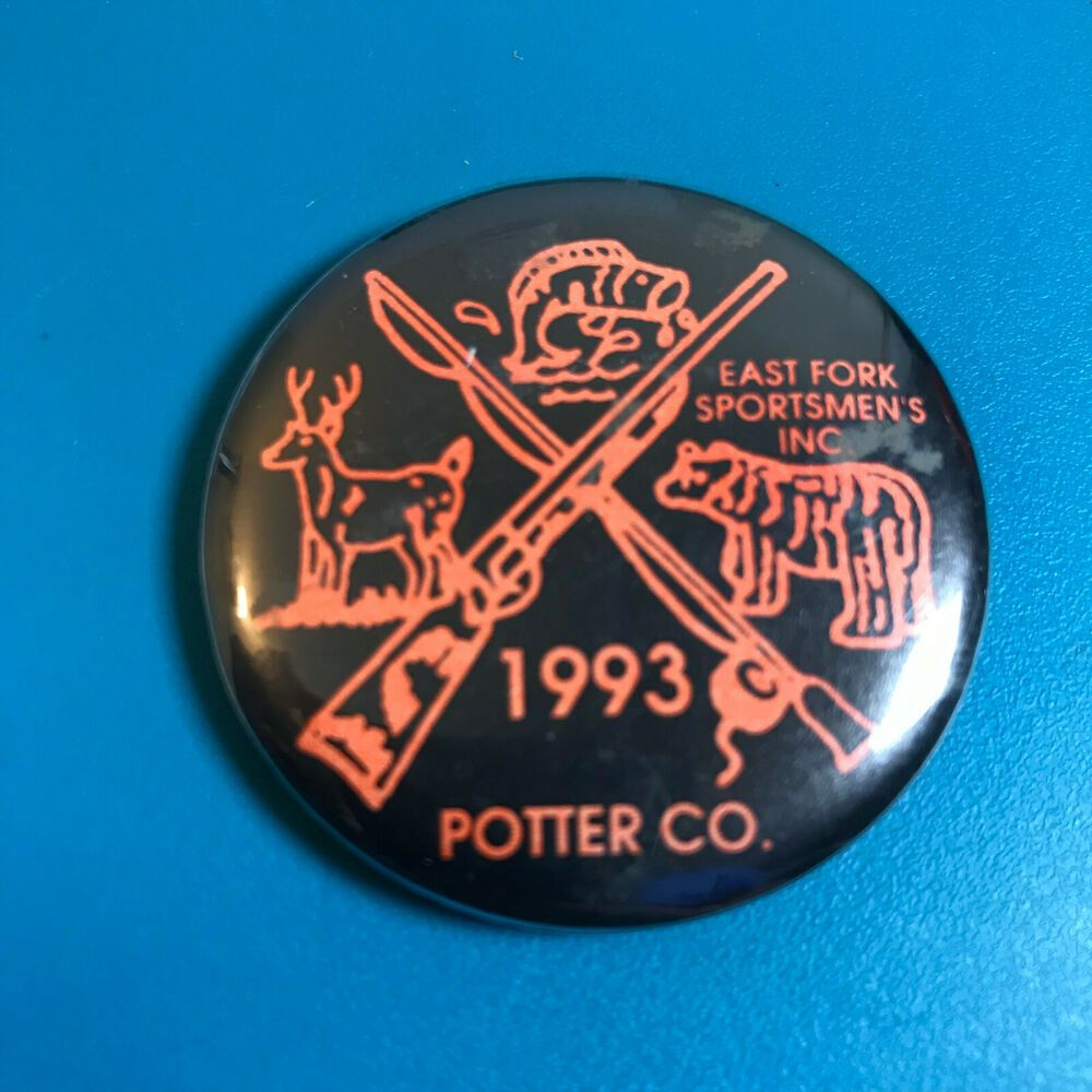 Details about 1993 Potter County East Fork Sportsmen's Inc