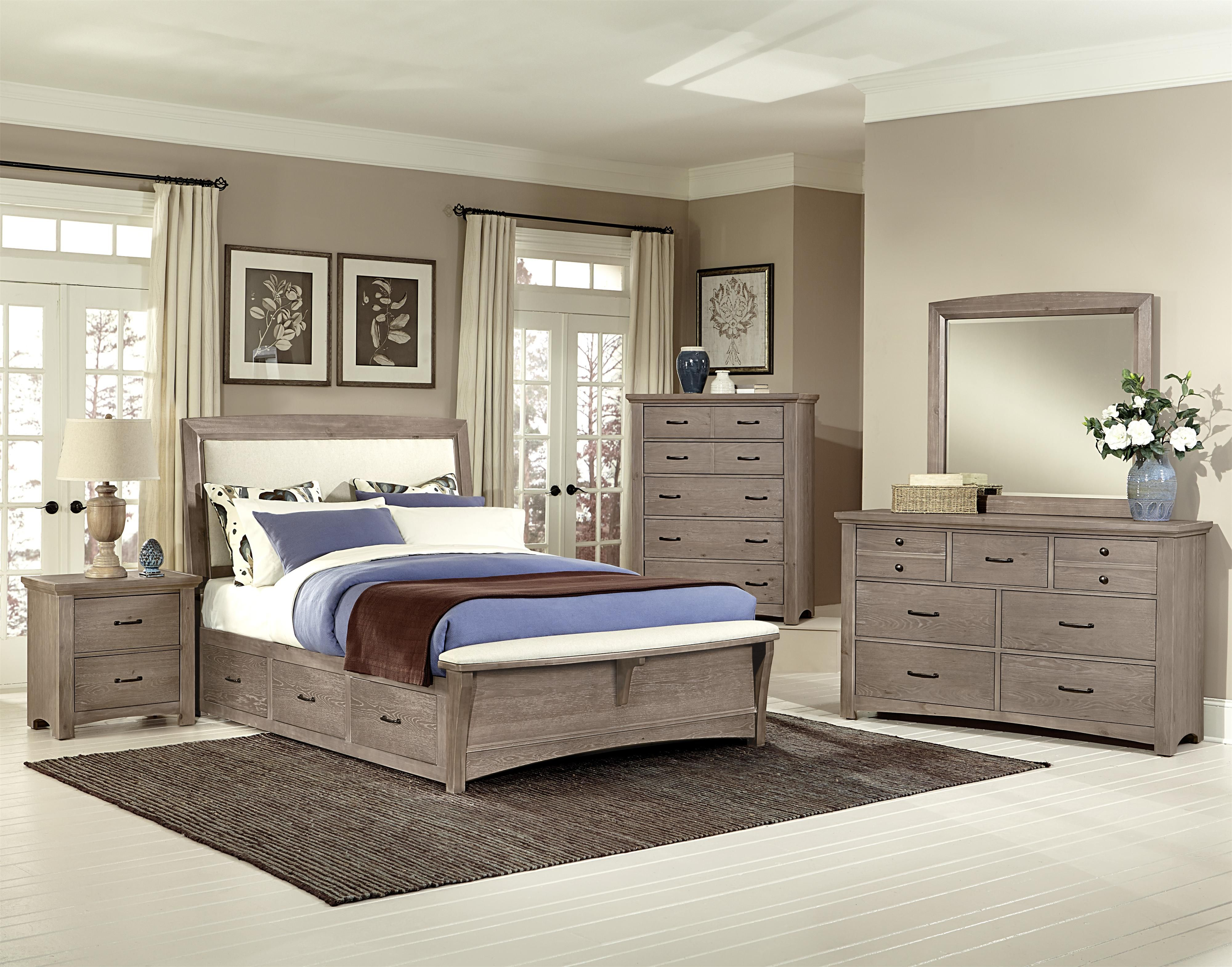 Transitions King Bedroom Group by Vaughan Bassett King