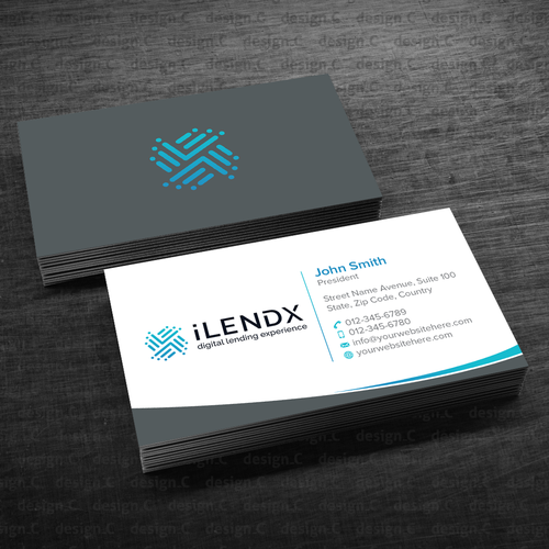Design A Fintech Business Card We Produce Software For Banks And Financial Institutions Business Card Inspiration Business Cards Name Card Design