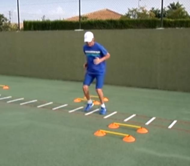 Ejercicios En Circuito Y Coordinacion : Juego de pies escaleras de coordinaciÓn ejercicios