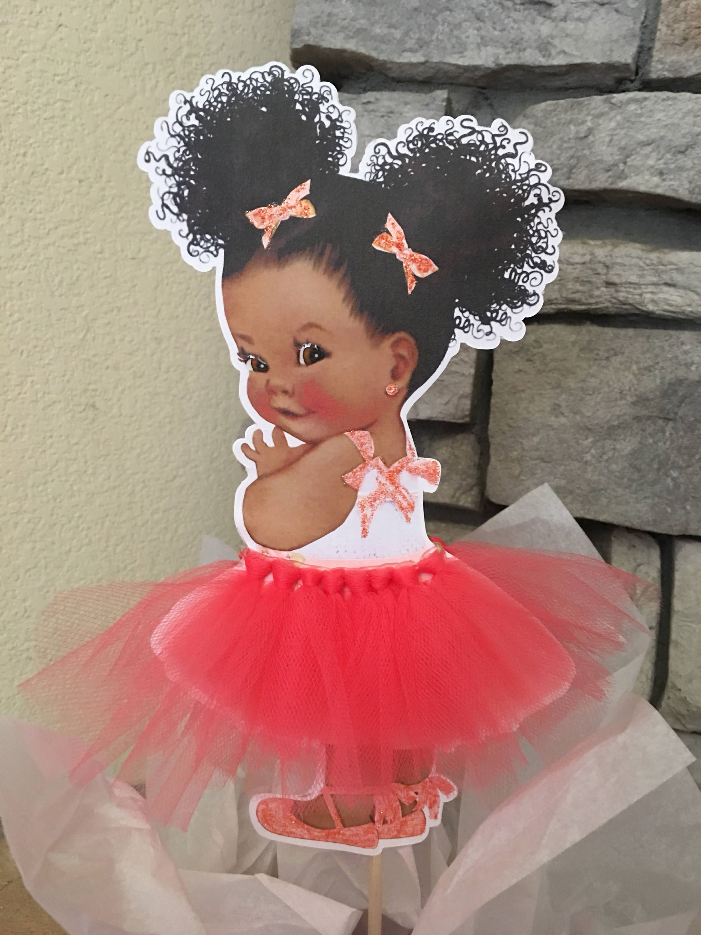 Ballerina Tutu Baby Silver Cutout Pre Cut Light Pink and Silver Ballerina Princess Baby Centerpiece with Wood Stand OR Card Stock Cut Outs