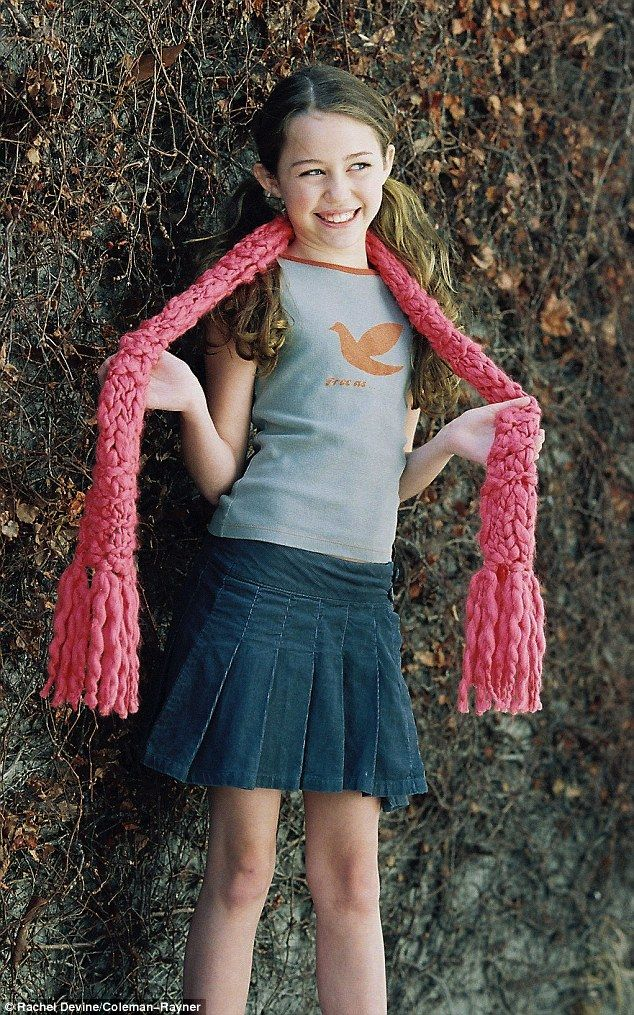 Picture Exclusive Childhood Modelling Shoot With Miley -6281