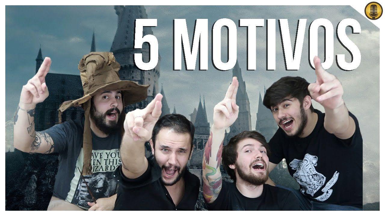 """5 MOTIVOS para HOGWARTS estar em """"Animais Fantásticos 2"""" feat. Marotos"""