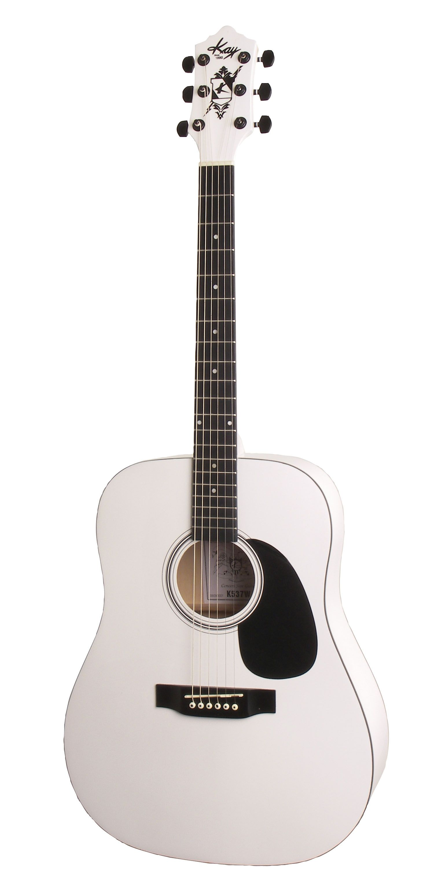 White Acoustic Guitar Acoustic Guitar Guitar Acoustic