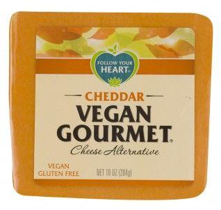 Cheddar Vegan Grocery Shopping Vegan Grocery Cheese Alternatives