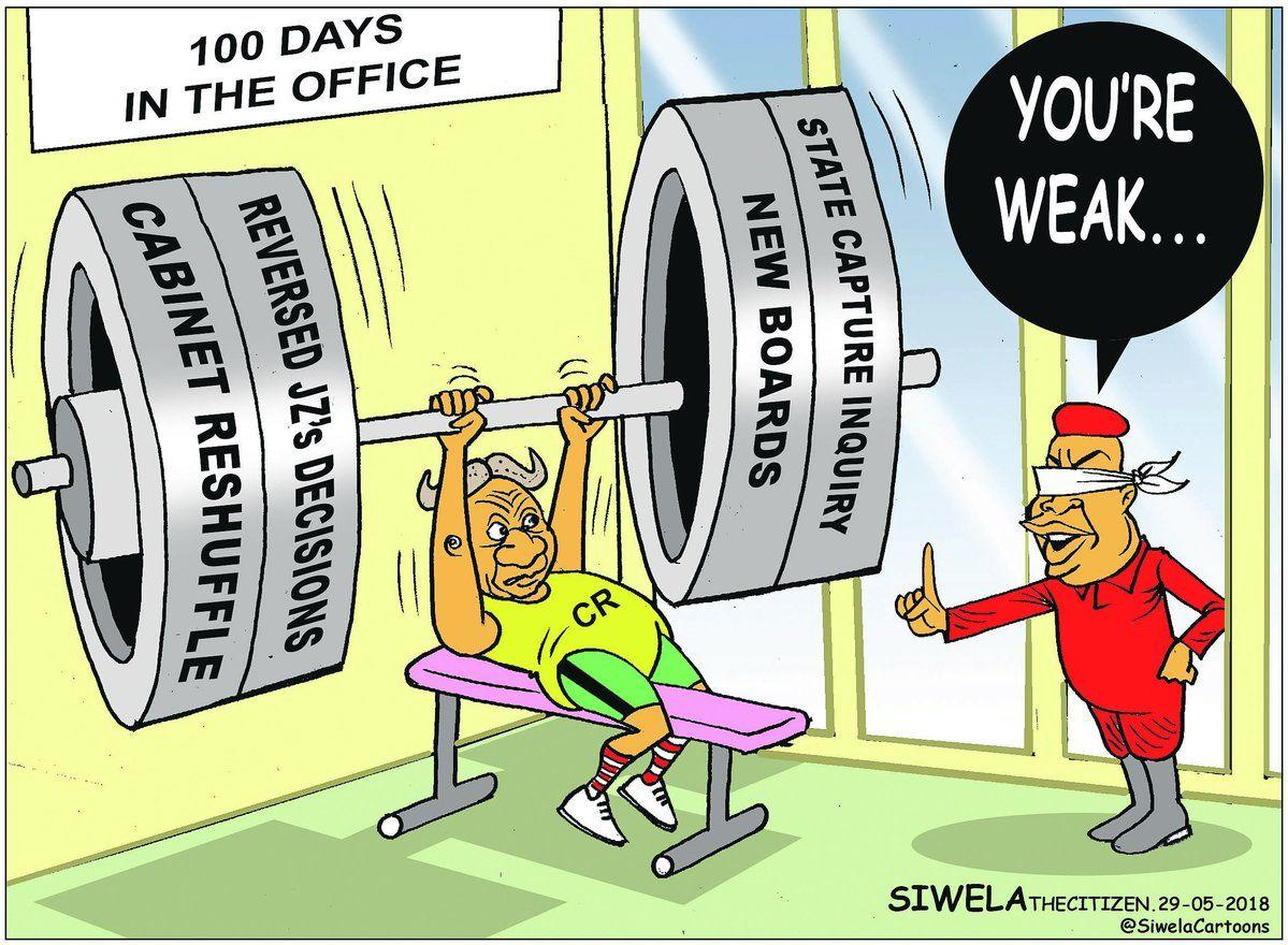 #CyrilRamaphosa #JuliusMalema Siwela (@SiwelaCartoons) | Twitter 2018