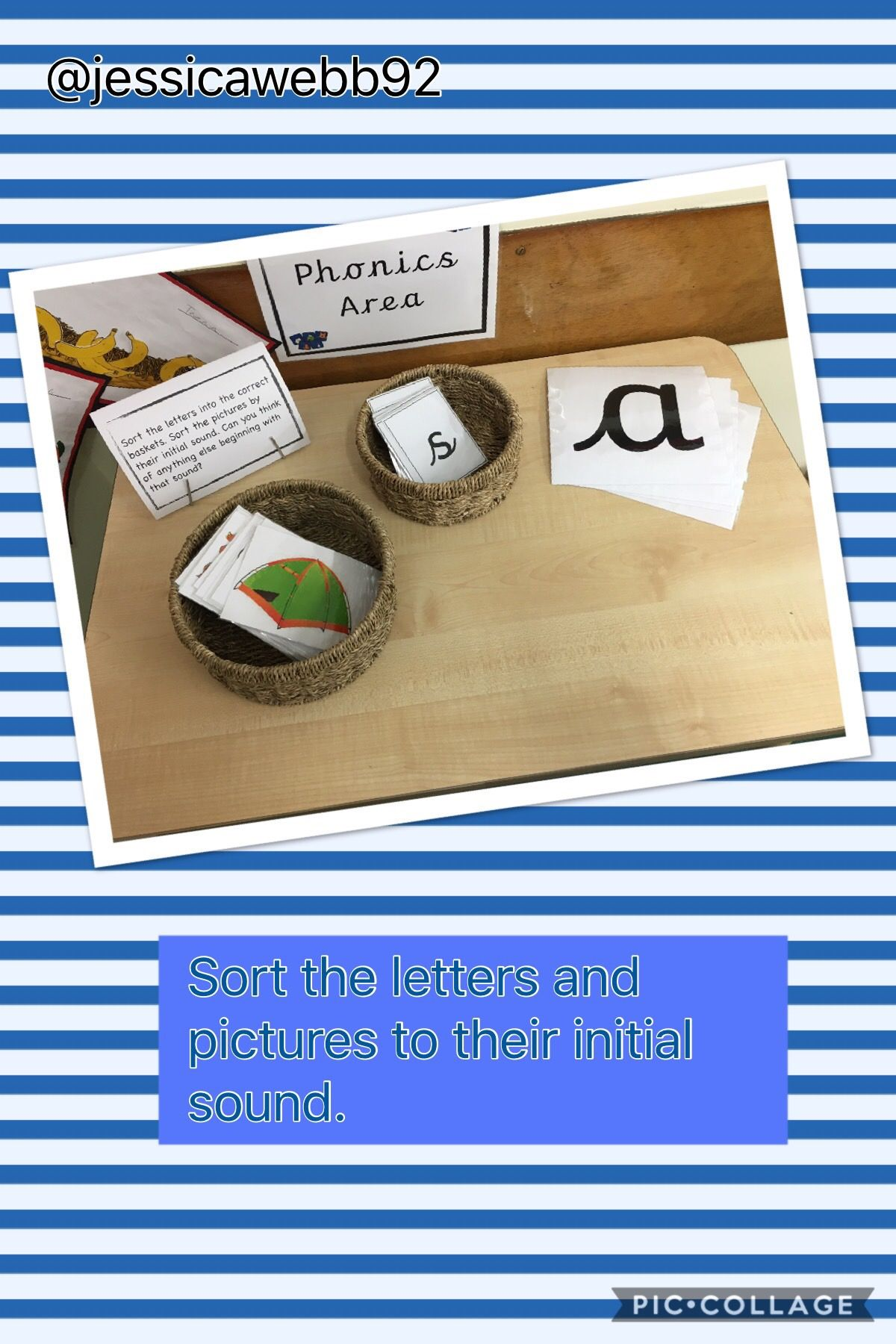 Match The Letters And Pictures To Their Initial Sound On