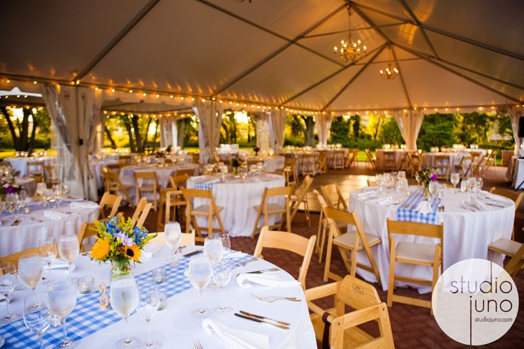 Table setting ideas, with gingham runners.   Event   Pinterest ...