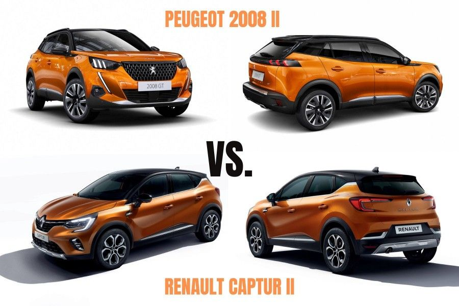 Peugeot 2008 2019 Contre Renault Captur 2019 Lequel Choisir