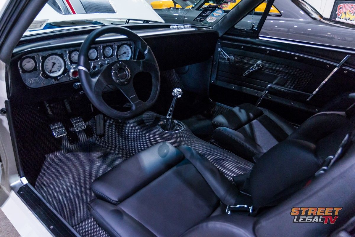 Dominick Farbo S Blizzard Mustang Is One Car That Keeps It Cool Mustang Vintage Mustang Car Interior Design