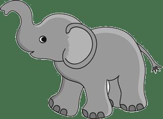 Elefante Para Imprimir Cartoon Elephant Baby Elephant Cartoon Baby Elephant Images
