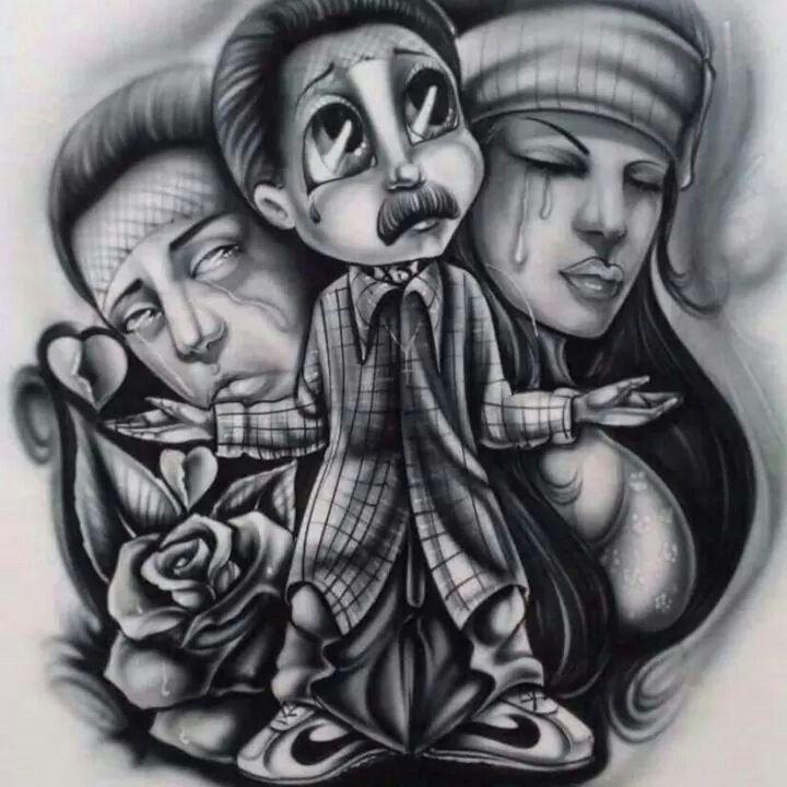 Solo Díos Puede Juzgarme Mi Vida Loca Arte Chicano Arte Mexico Tatuaje Estilo Chicano