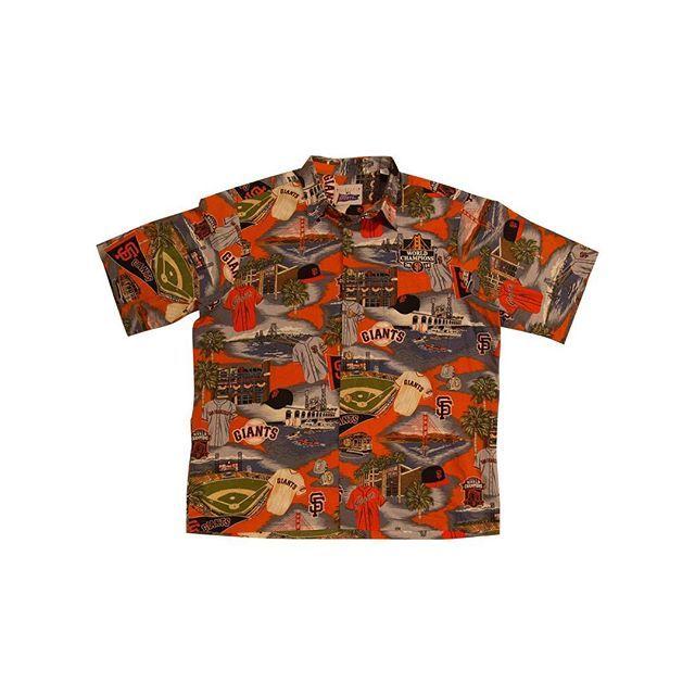 2554ea53 Reyn Spooner SF Giants 2014 World Series World Champion Hawaiian Shirt ( Large). $40.00