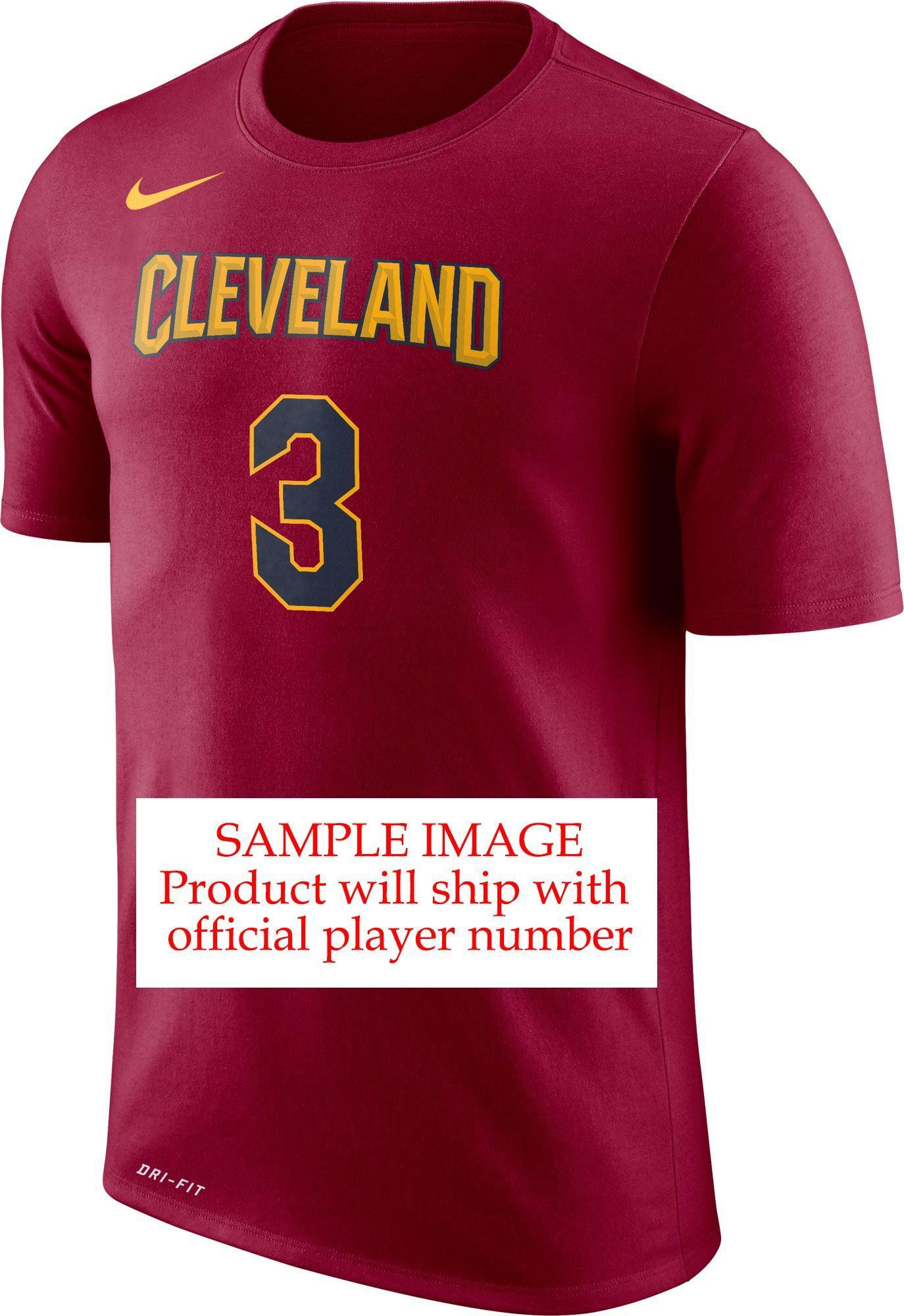 1bf418285 Nike Men s Cleveland Cavaliers Collin Sexton  2 Dri-FIT Burgundy T-Shirt