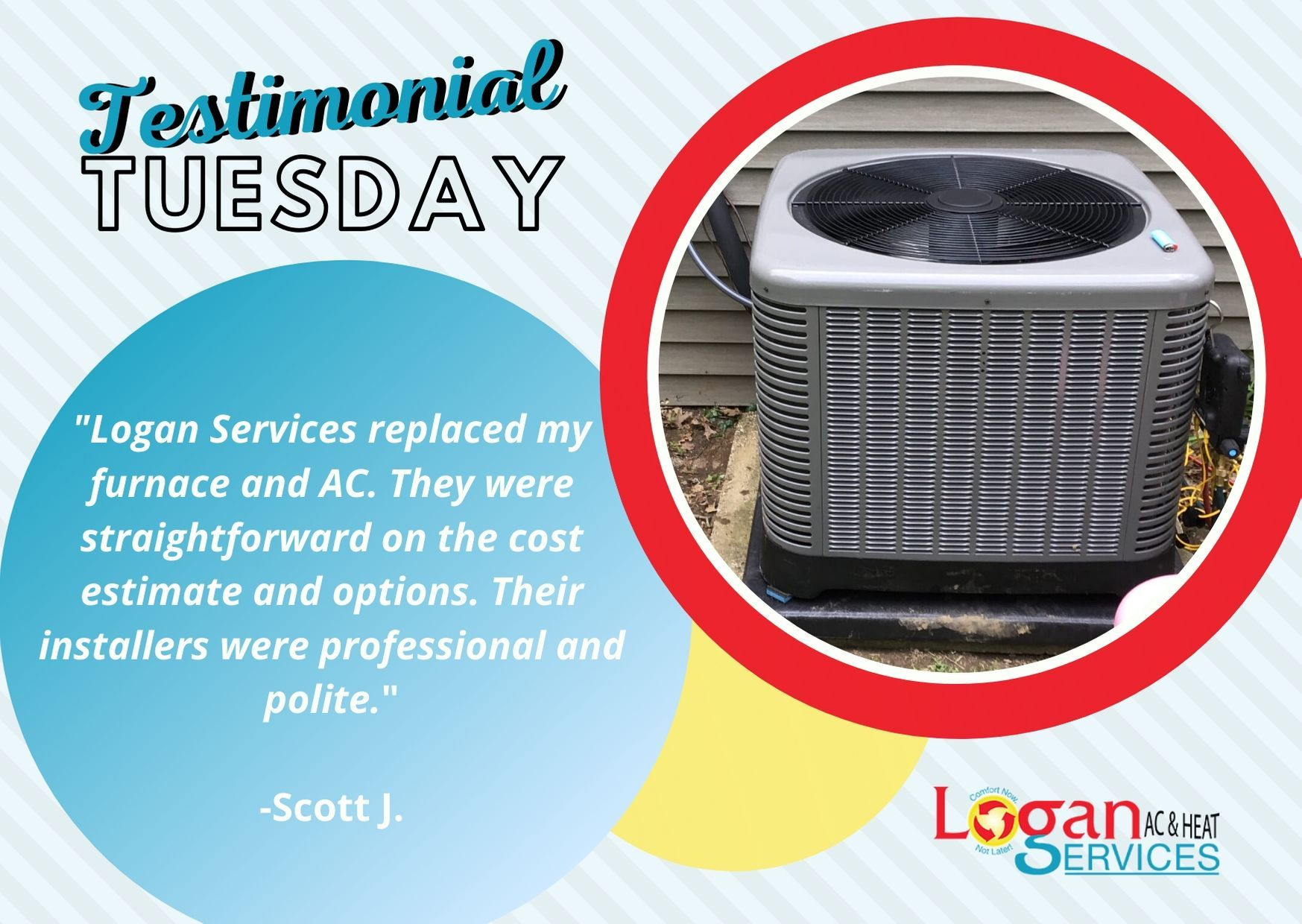 Testimonial Tuesday in 2020 Heating services