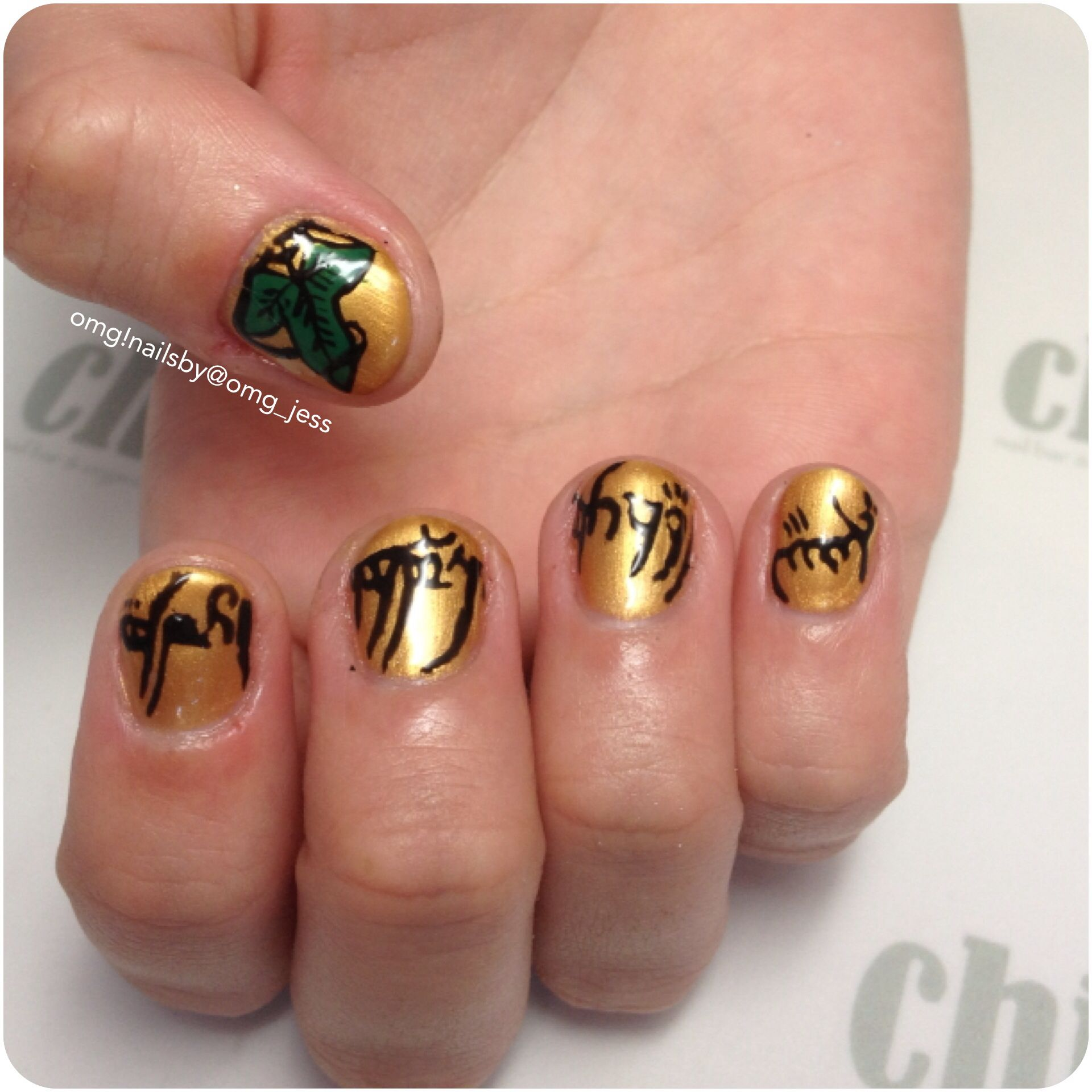 Lord of the rings nail art :) | {Nails} | Pinterest | Lord, Hair ...