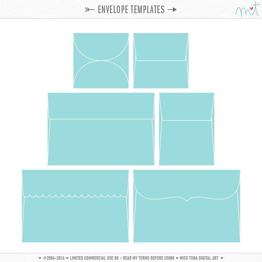 Envelope Templates  Cu  Envelopes    Envelopes