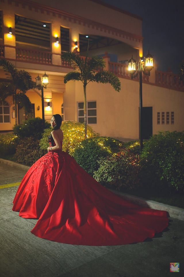 Red Themed Debut 18th Birthday Party At Hanging Gardens Events