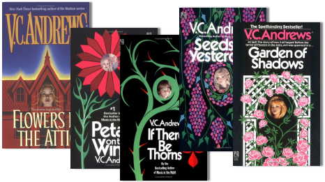 Book Review Flowers In The Attic Author Virginia Andrews Hnn Horrornews Net Flowers In The Attic Favorite Books Favorite Authors
