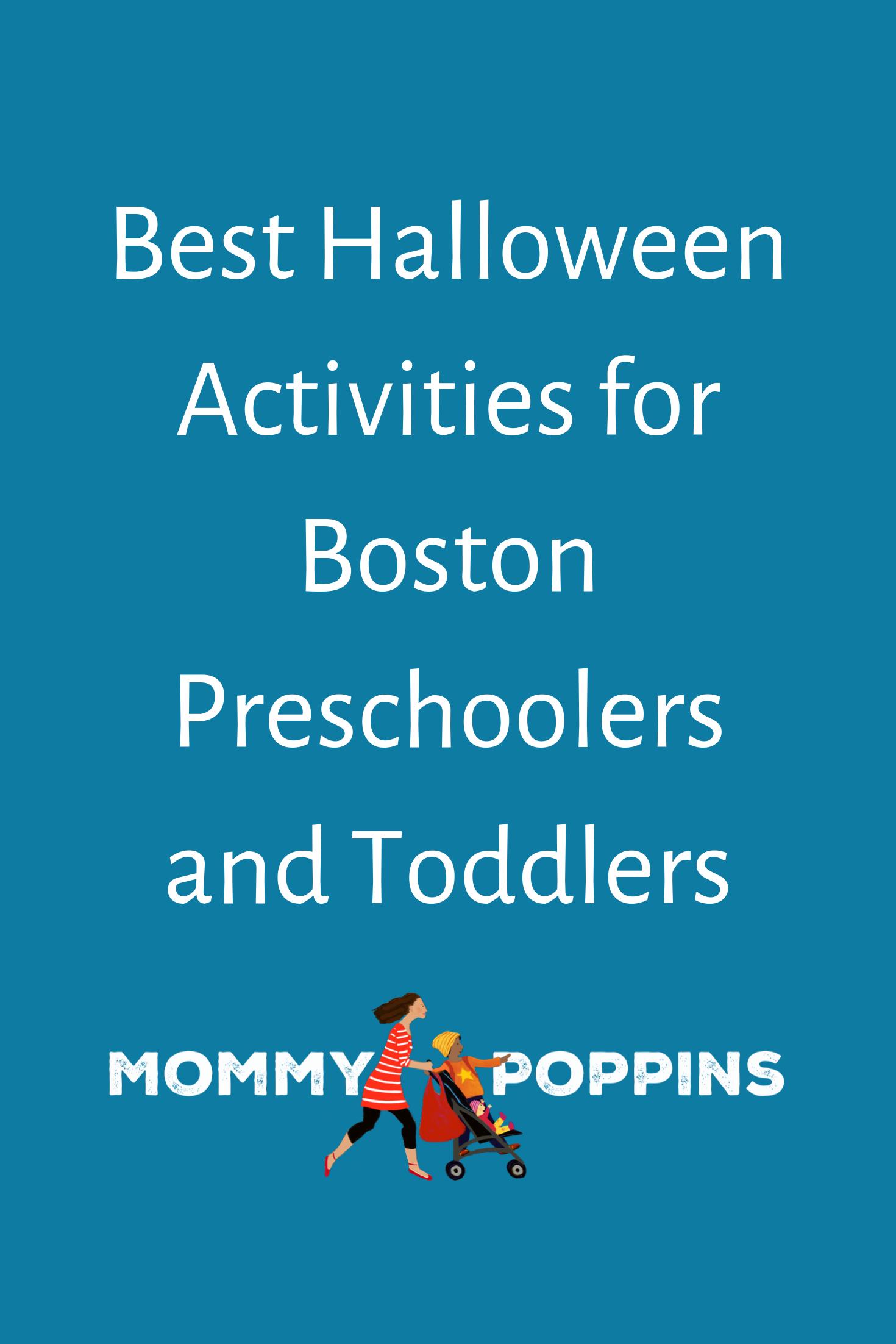 Best Halloween Activities for Boston Preschoolers and