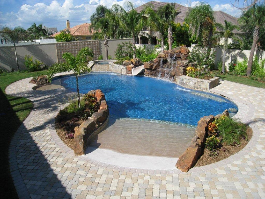 Backyard Pool Design Design Delectable Inspiration