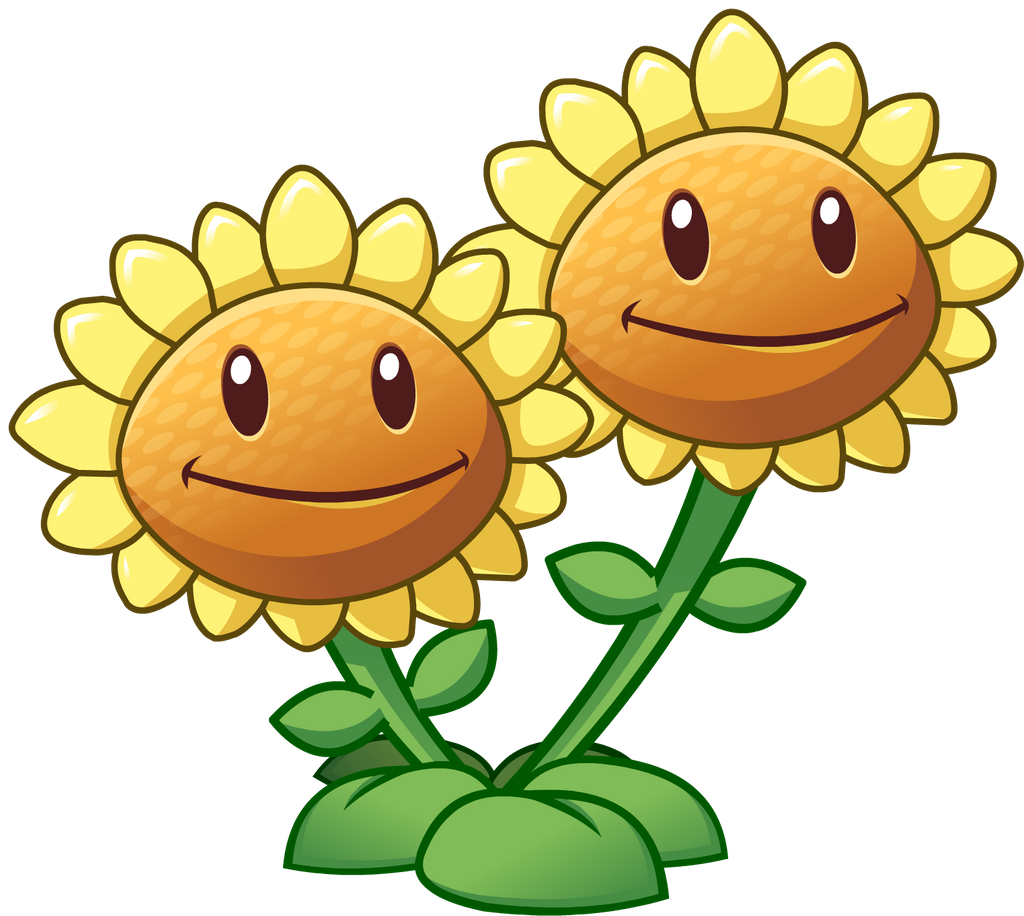 Plants Vs Zombies 2 Twin Sunflower By Illustation16 On Deviantart In 2020 Plants Vs Zombies Zombie Drawings Plant Zombie