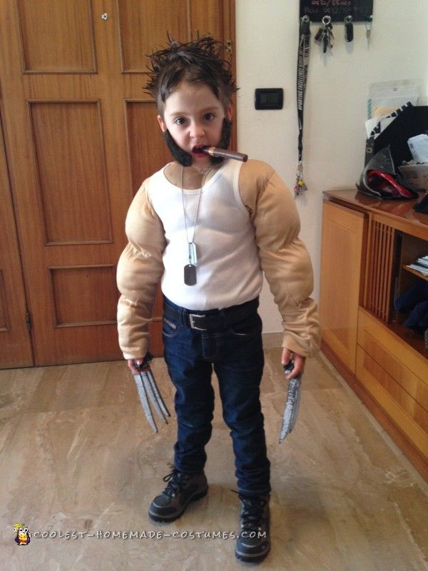 Cool Toddler Wolverine Costume In 2019 Wolverine Costume