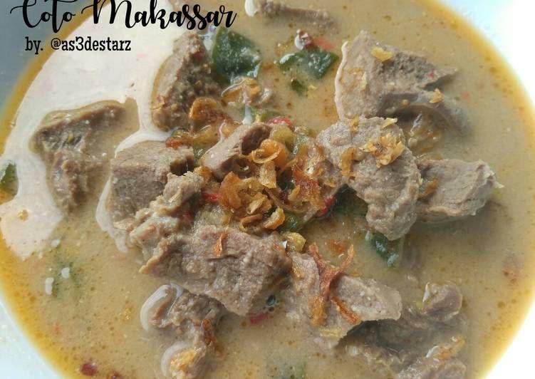 Resep Coto Makassar Bikinramadanberkesan Oleh Astrina Dianingtyas Resep Resep Resep Masakan Makanan
