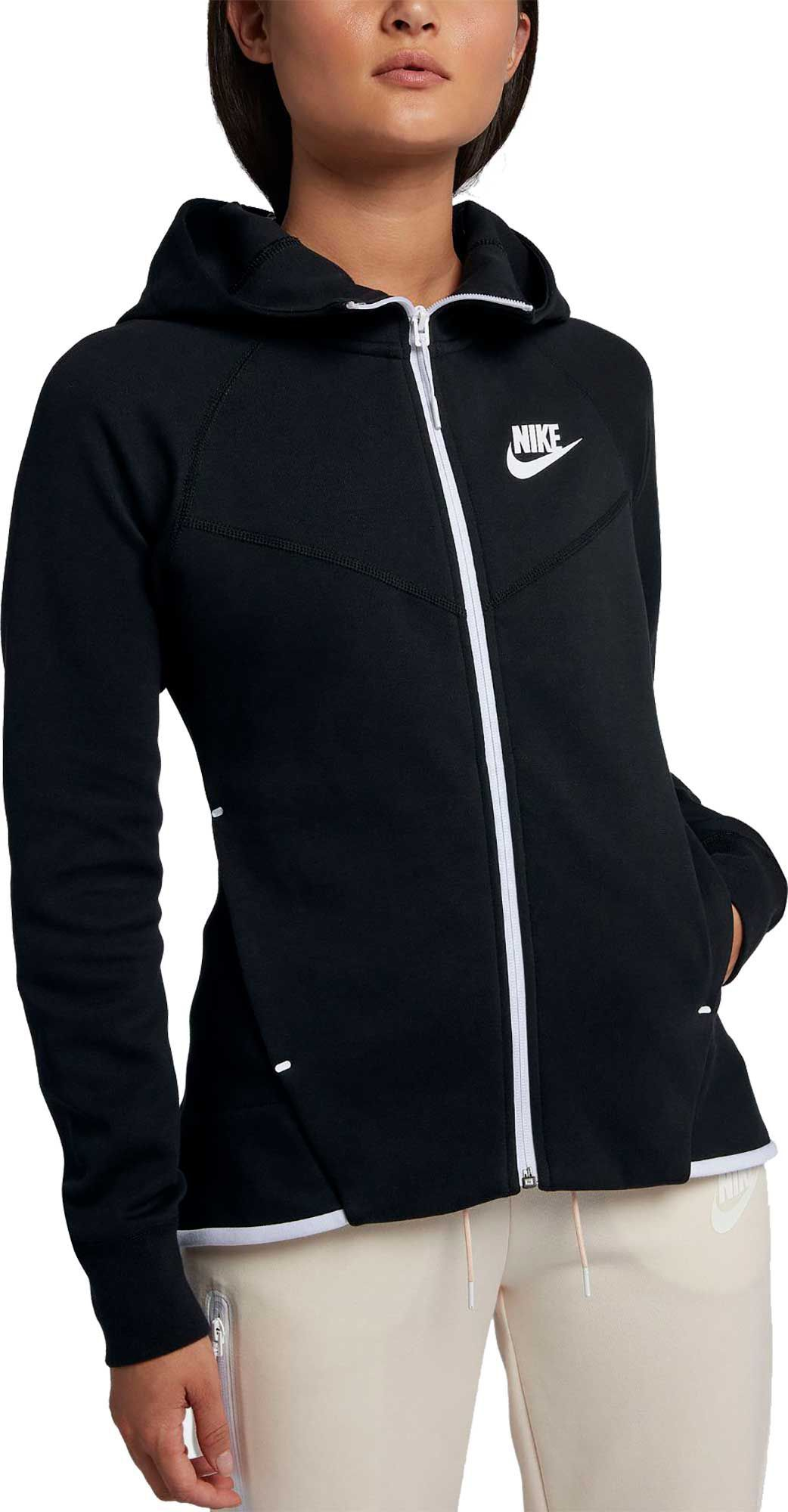 4c735f62c716 Nike Women s Sportswear Tech Fleece Full-Zip Hoodie