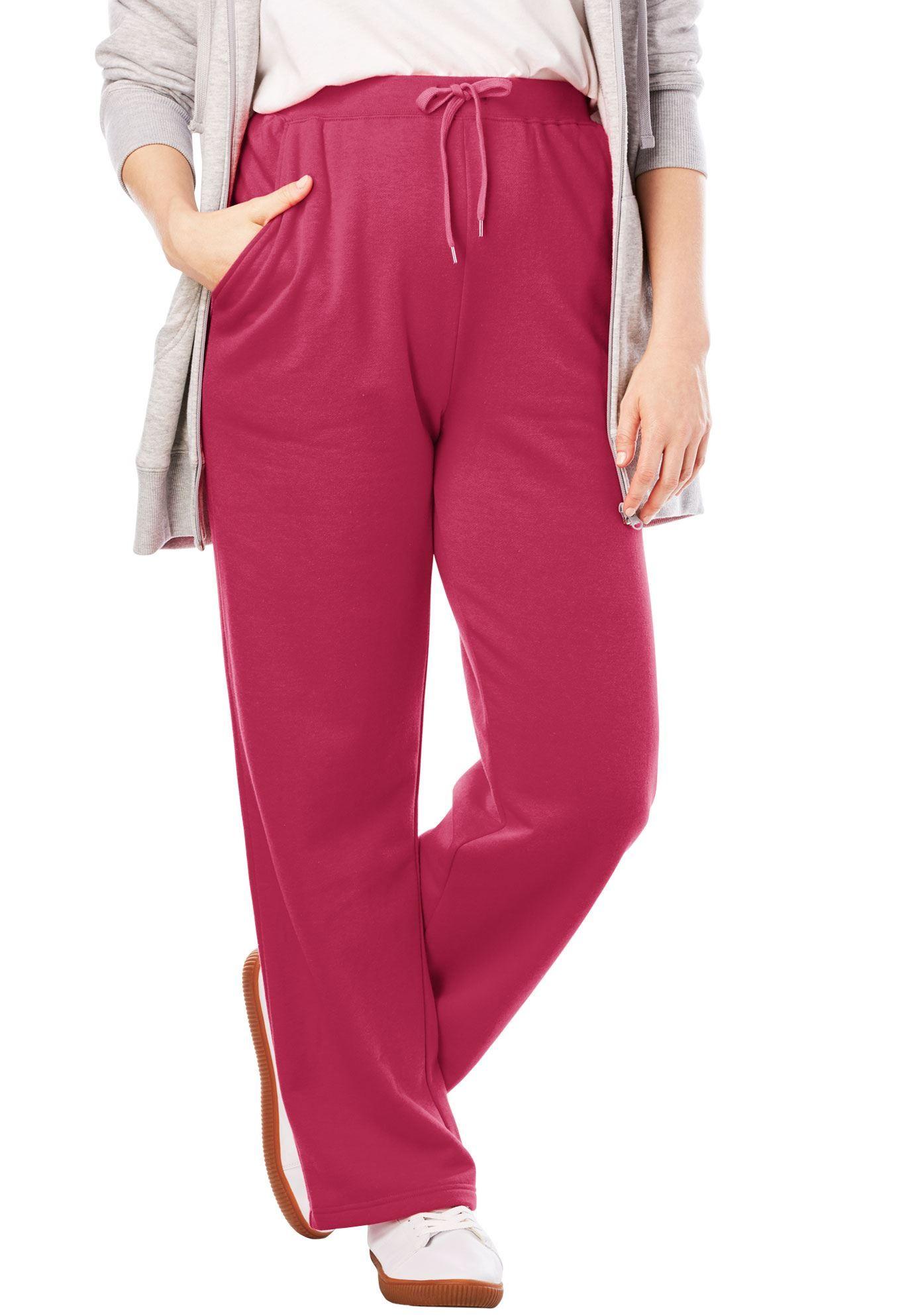 964a8ed398d Sweat Pants Easy Fleece - Women s Plus Size Clothing