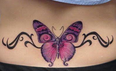 Tattoos Lower Back Tattoos Lower Back Tattoos Butterfly Back