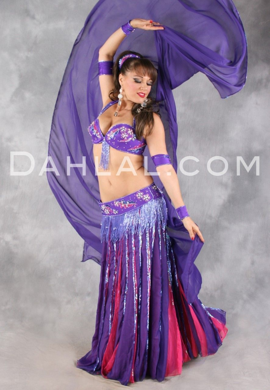 CHIFFON DREAMS by Pharaonics of Egypt, Egyptian Belly Dance Costume ...