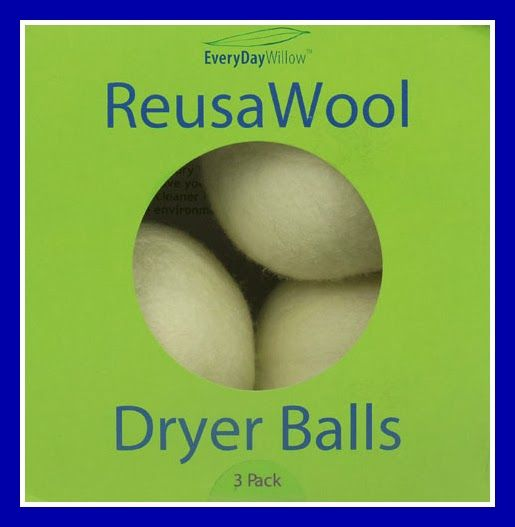 ReUSAWool Dryer Balls Review and Giveaway Exp 2/8