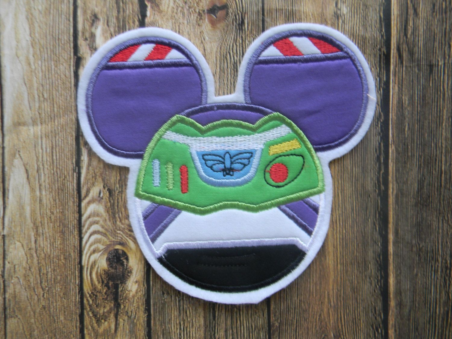 Buzz Lightyear  Space Ranger Patch  by TheEnchantedHollow on Etsy, $9.00